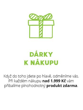 Dárky k nákupu zdarma, akce a slevy na přírodní kosmetiku a ekodrogerii
