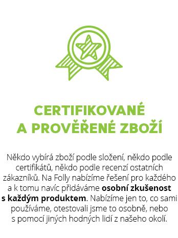 Přírodní kosmetika, ekodrogerie a zdravé potraviny s ověřenými eco a bio certifikáty