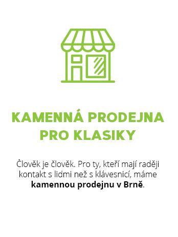 Přírodní kosmetika, ekodrogerie a zdravé potraviny v prodejnách v Praze a Brně