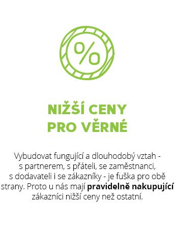Věrnostní program pro nákup přírodní kosmetiky a ekodrogerie plný slev